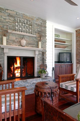 Fireplace by The Wills Company