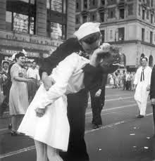 WWII ending celebration